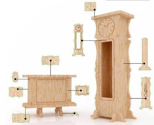 Moldes de muebles para maquetas de casas buscar con - Casas de muebles ...