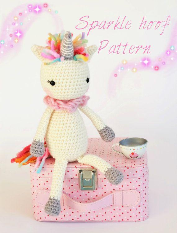 Crochet Amigurumi Unicorn PATTERN ONLY Instant by KornflakeStew ...