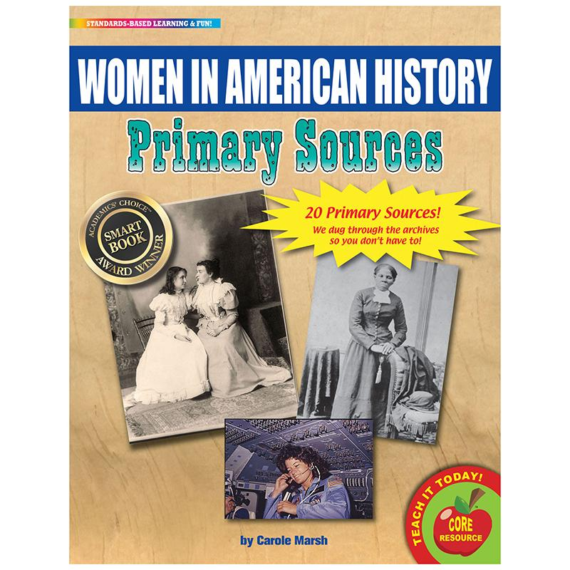 PRIMARY SOURCES WOMEN IN AMERICAN