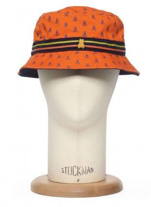 Hopped Up Bucket Hat - Tangerine