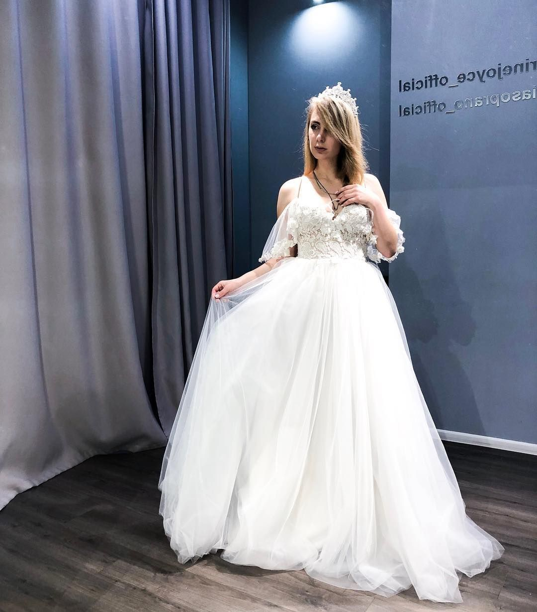 Real Bride In Wedding Dress By Victoria Soprano New