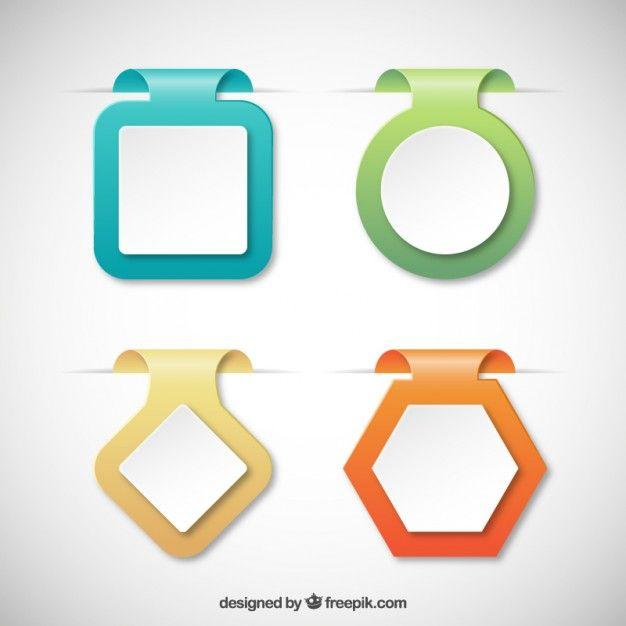 Etiquettes Colorees Frame Border Design Free Graphic Design Infographic Design Layout
