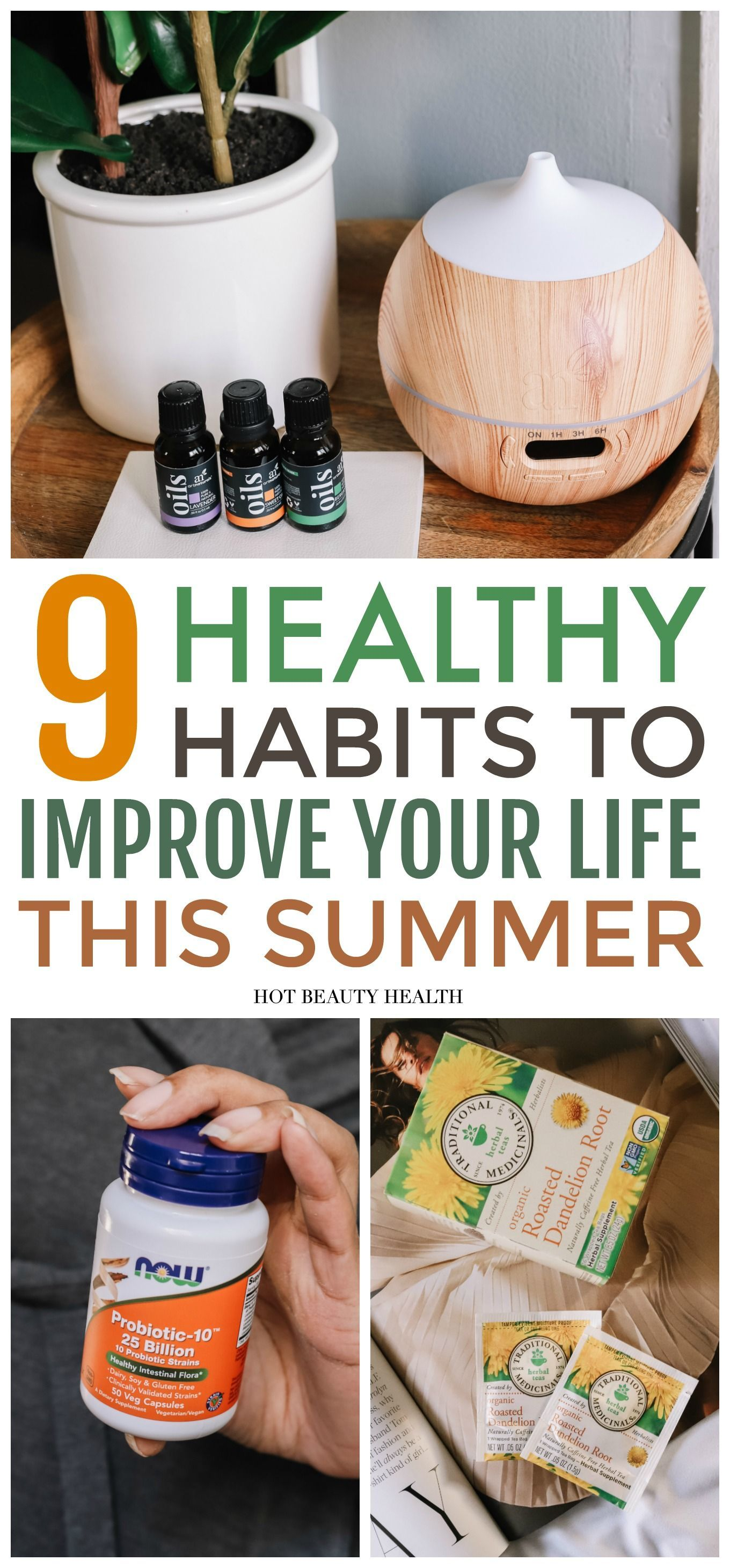 9 Healthy Habits To Adopt This Summer