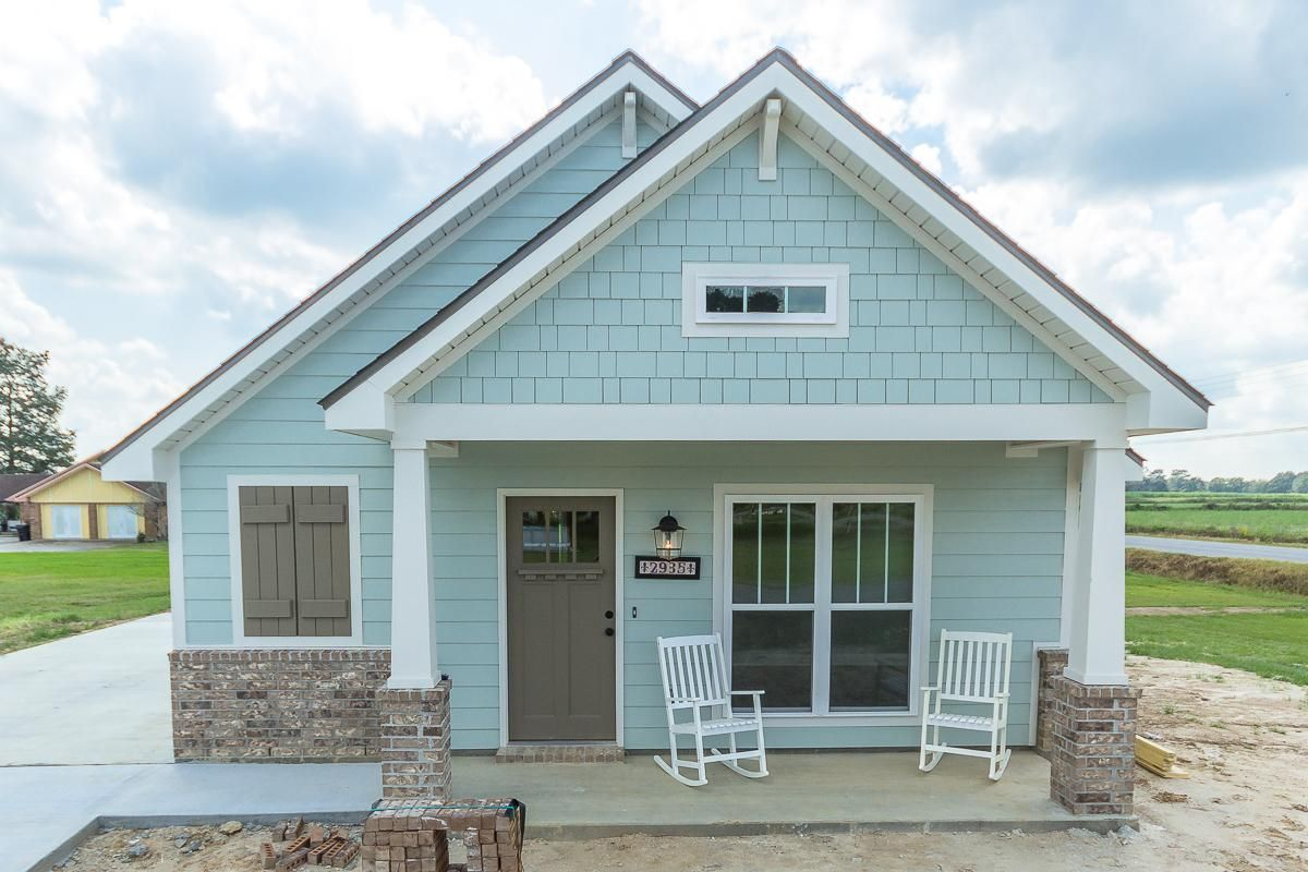 Zydeco Craftsman Collection Lafayette New Homes American Style