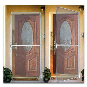 Jobar Ideaworks Instant Sliding Door Screen In 2020 Instant Screen Door Portable Screen Door Diy Screen Door