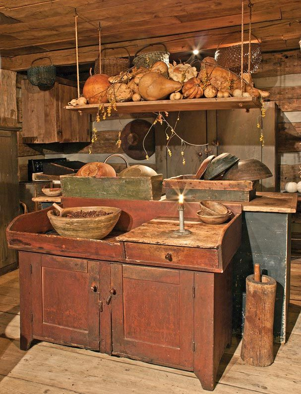 8 Ways To Design A Kitchen For An Early House Primitive