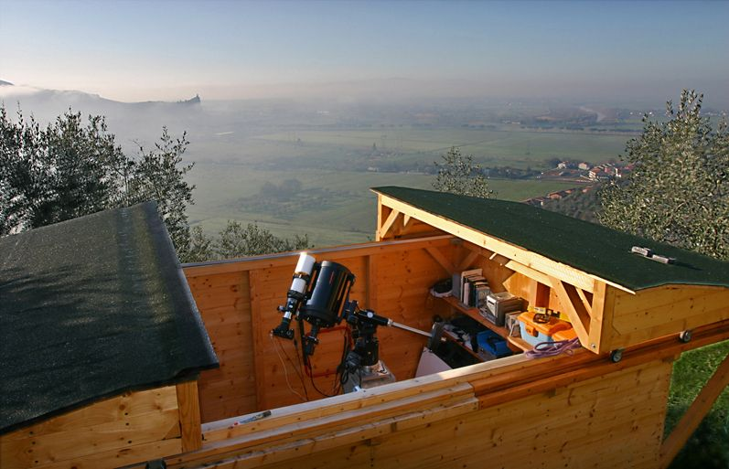 Home Observatory · TelescopeCabin IdeasKid ProjectsBackyard ...