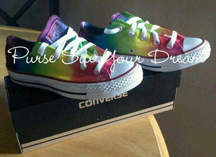 b241e12fac7 Rainbow Converse