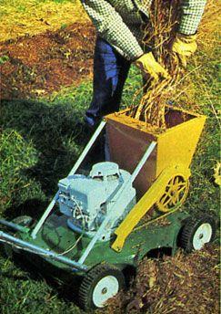 Build A Compost Shredder Chipper Do It Yourself Garden