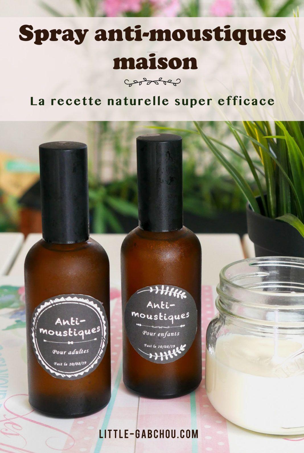 DIY: le spray anti-moustiques et anti-insectes naturel pour toute la famille en 2020   Anti ...