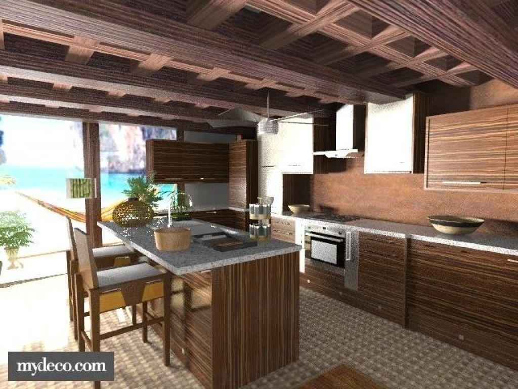 Atemberaubende 3 Bilder Tropische Küche Tropische küche