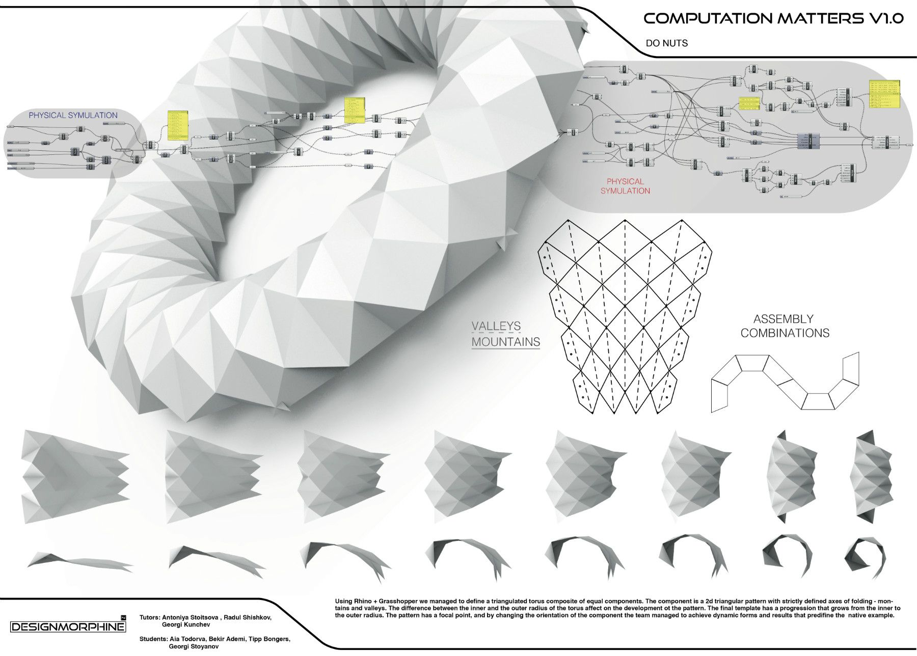 Computation matters v1 0 designmorphine grasshopper for Arquitectura parametrica