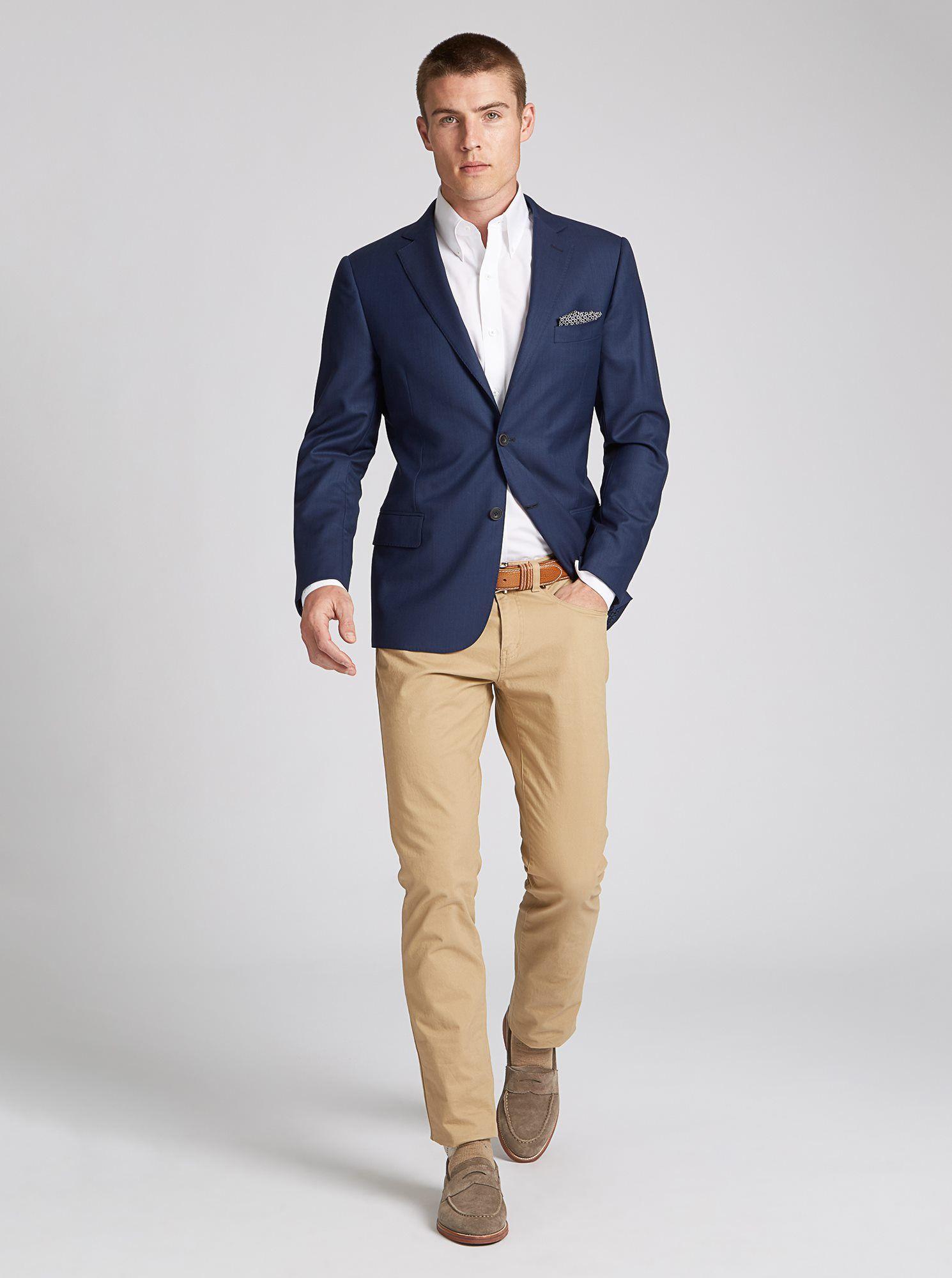 38 1 suit 4 ways  blue blazer outfit men smart casual