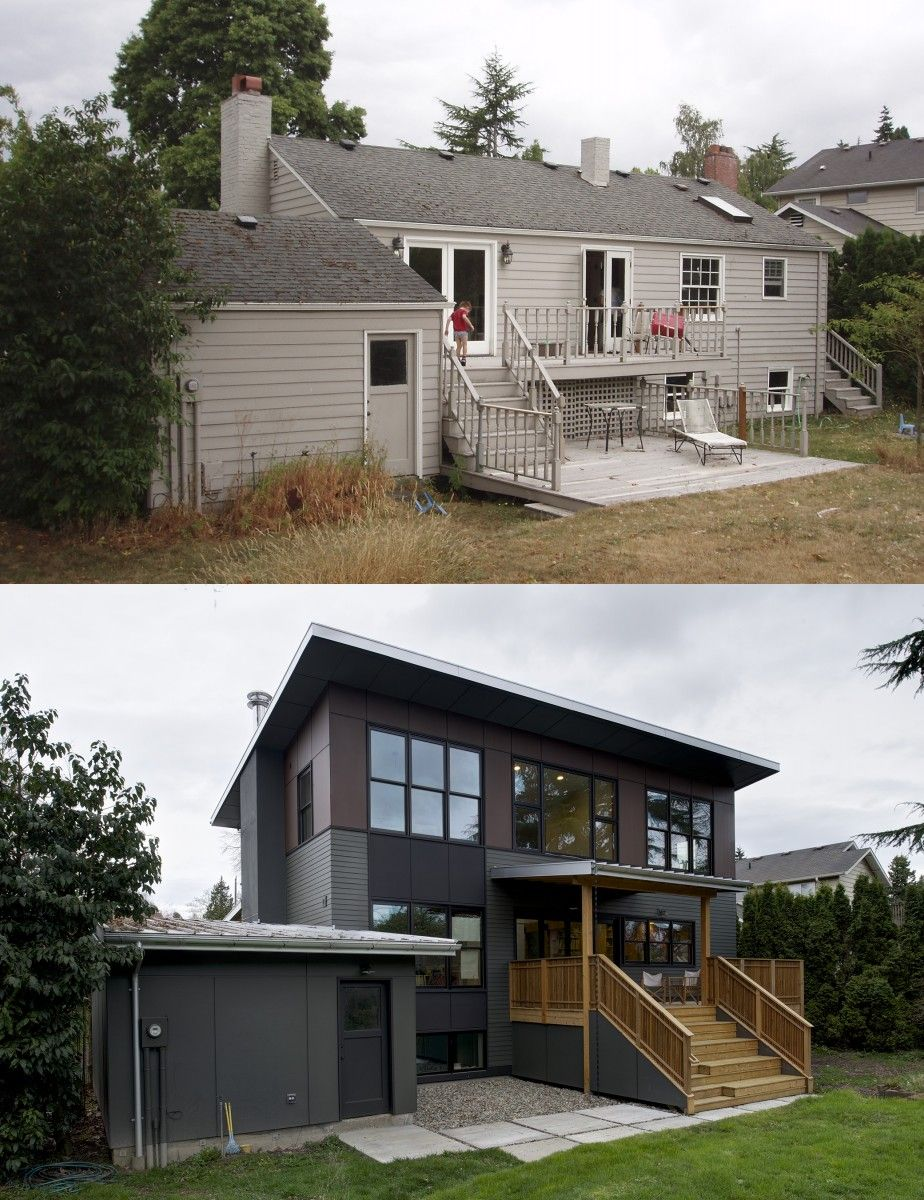 3rd Floor Addition Home Design Ideas Renovations Photos: Awkward Circulation And A Heavily Divided Plan, As Well As A Simple Lack Of Space For A Growing