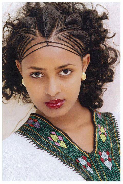 Pin By Marti Thompson On Ethiopia Ethiopian Hair Hair Styles Ethiopian Braids
