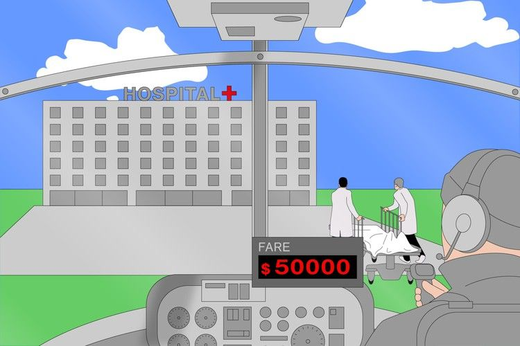 Air ambulances are flying more patients than ever and
