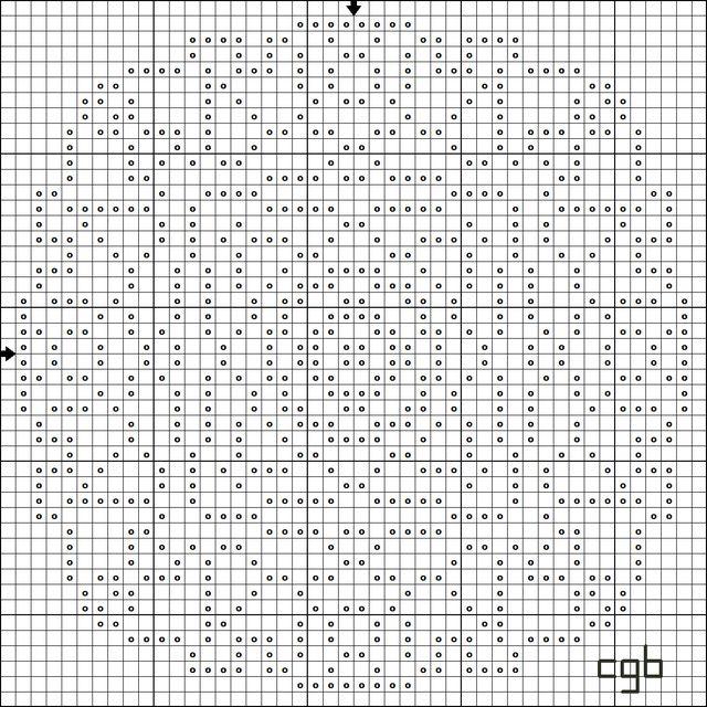 Shape Up Free Geometric Shapes Cross Stitch Patterns
