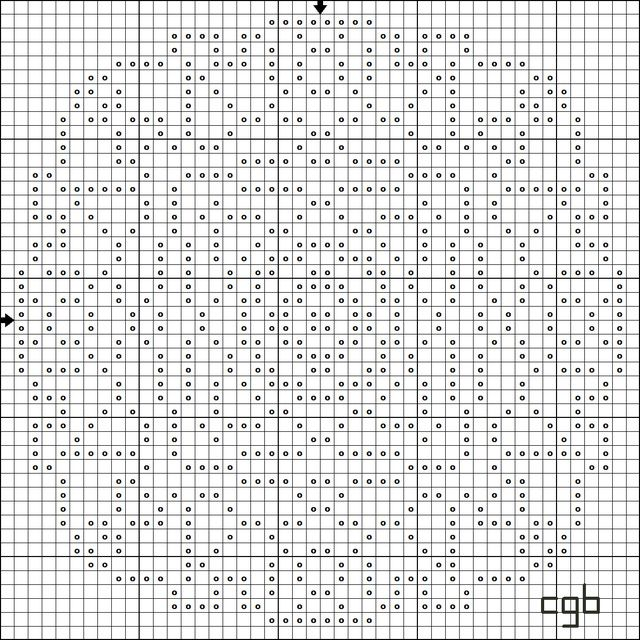 Shape up free geometric shapes cross stitch patterns for Cross stitch patterns free printable