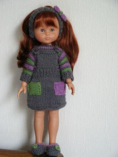 """vêtements pour poupée de 33cm """"les chéries de corolle"""" ou paola reina"""