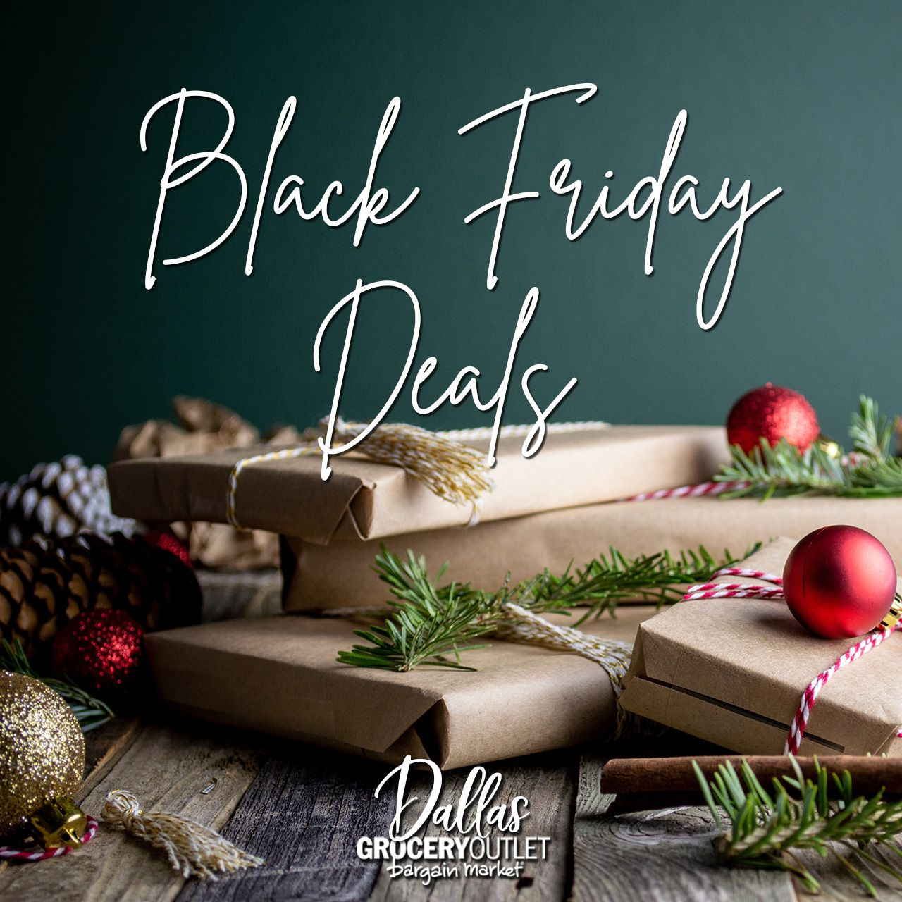 #BlackFriday deals happening now through Tuesday, December 3, 2019 Because who really wants to see food ads after Thanksgiving🙃 . . #DallasGroceryOutlet #ShopDallasGOLocal #DallasOregon #BargainBliss