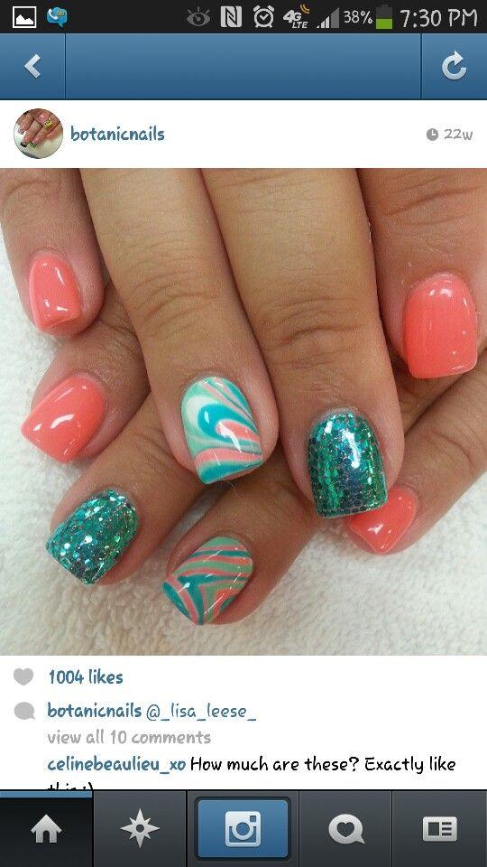 Pin by Crystal Avila on Beauty   Pinterest   Short nails, Nail nail ...