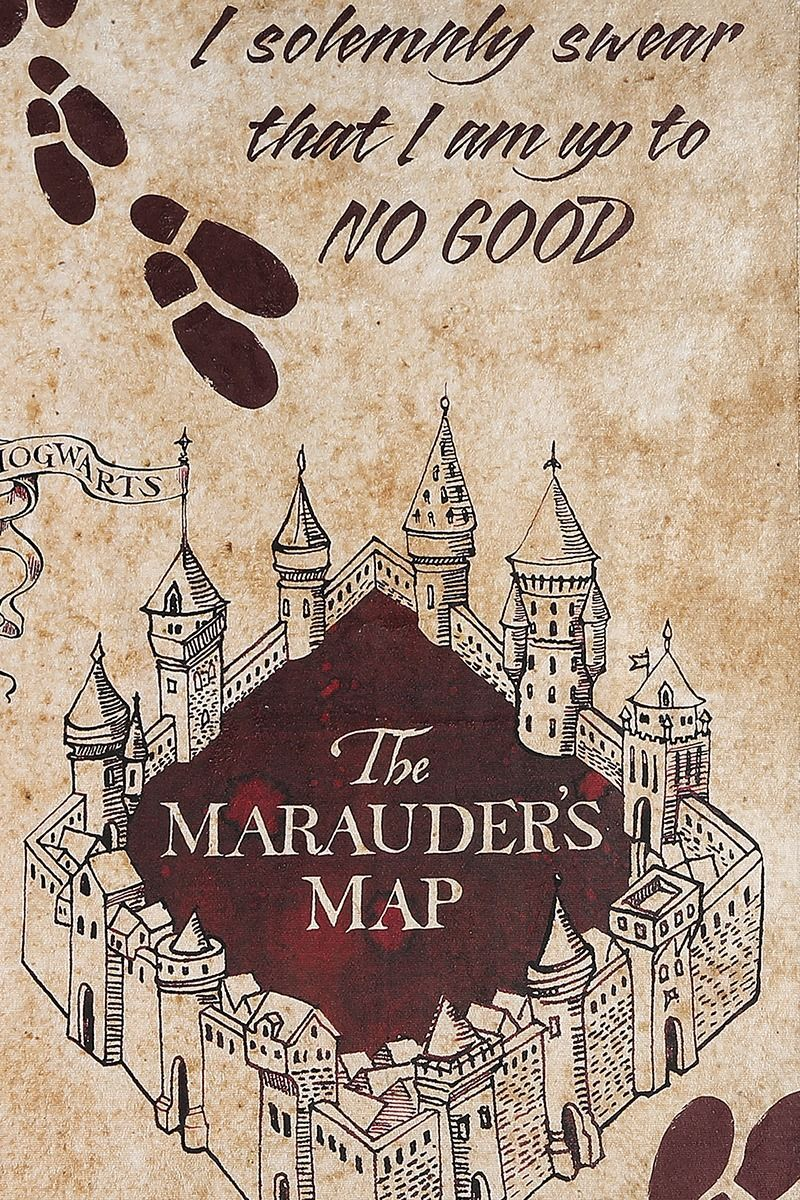 Marauder S Map In 2020 Harry Potter Marauders Map Harry Potter