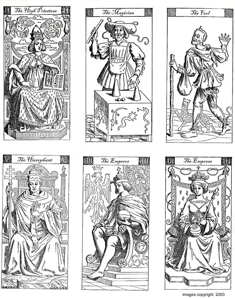 photo regarding Printable Tarot Deck named Imágenes de Totally free Printable Tarot Playing cards Black White