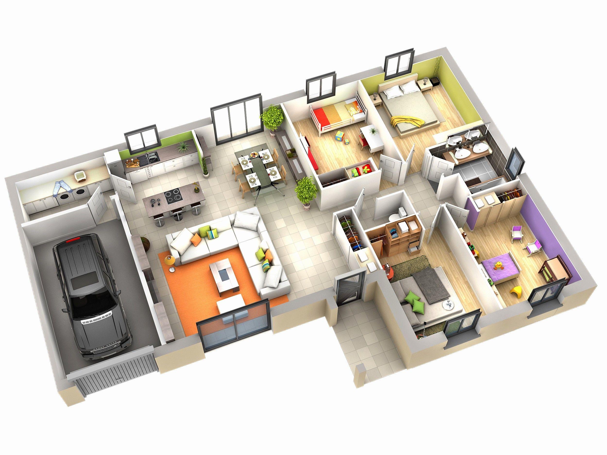 Plan Interieur Maison Idee De Plan De Maison Plan Maison Moderne Plan Maison Plain Pied Plan Maison