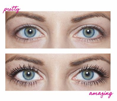 27298957883 bareMinerals Lash Domination Volumizing Mascara before and after ...