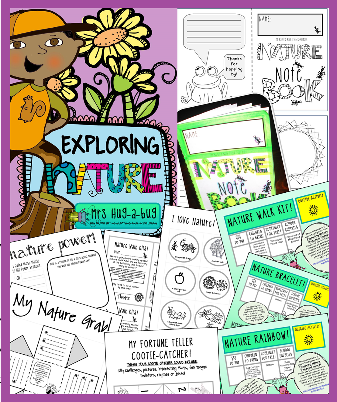 Nature Exploration Outdoor Activities Celebrating The Environment
