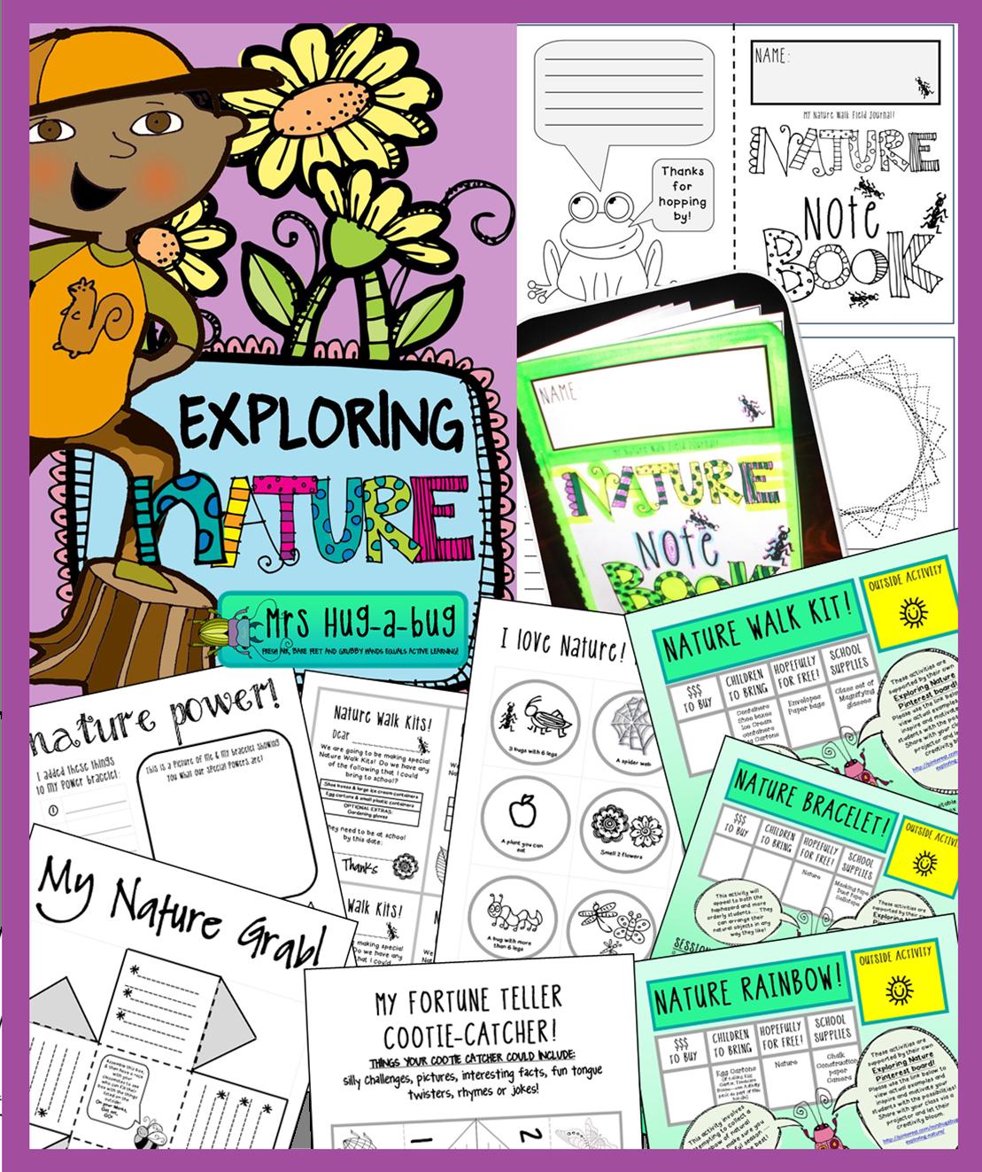 Nature Exploring Worksheet