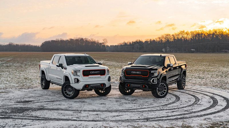 2020 Harley Davidson Gmc Sierra Adds Brand Name To The Truck Game Tuscany Motor Company Maker Of The Har In 2020 Harley Davidson Truck Gmc Sierra Harley Davidson