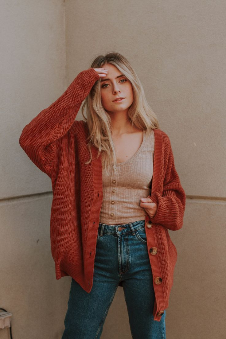 The French Sweater Styling Trick We're Trying   Who What Wear