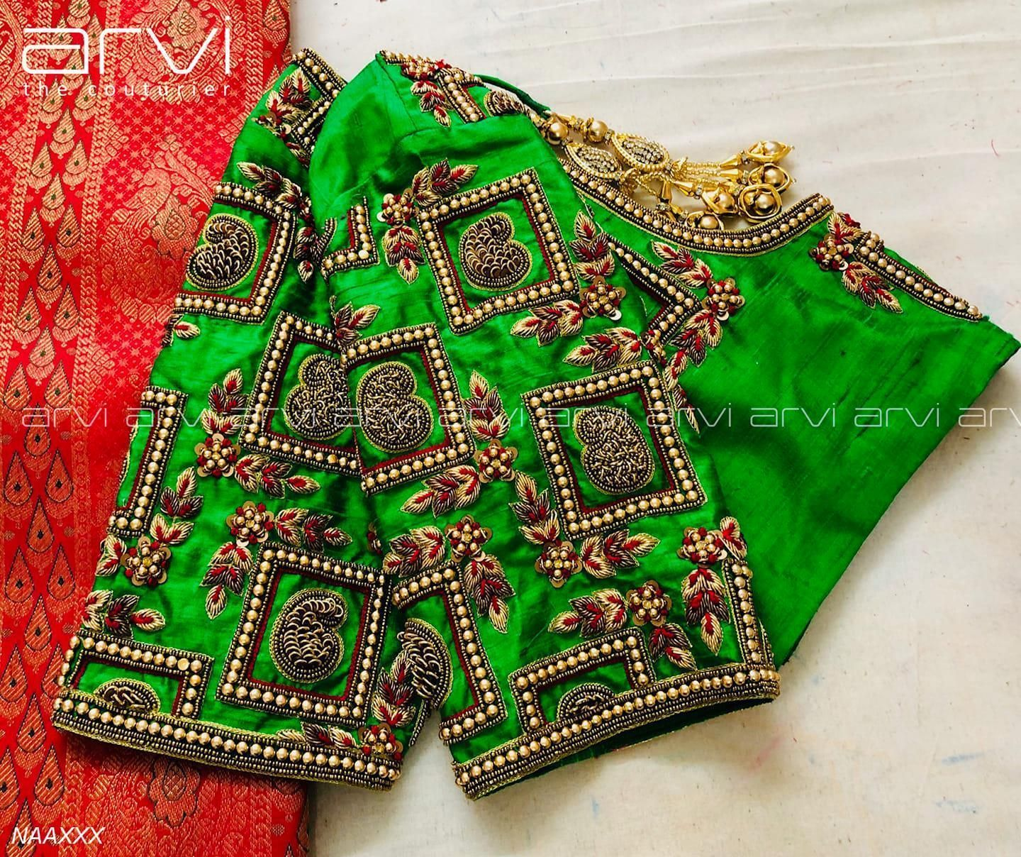 Blouse Designs Latest Traditional _ Blouse Designs