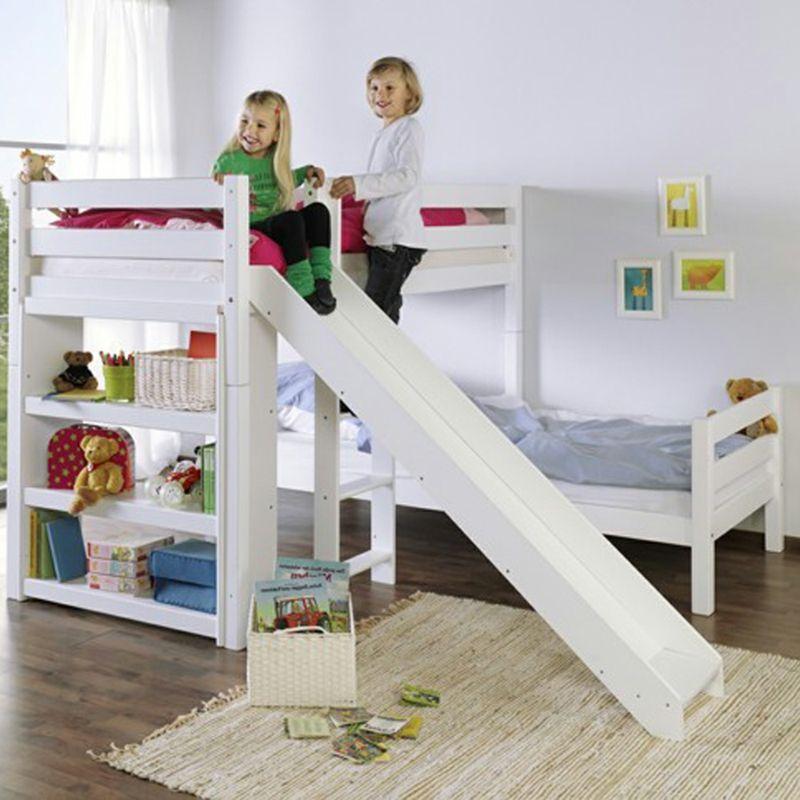 60 Hochbett mit Rutsche Ideen für Mädchen und Jungen