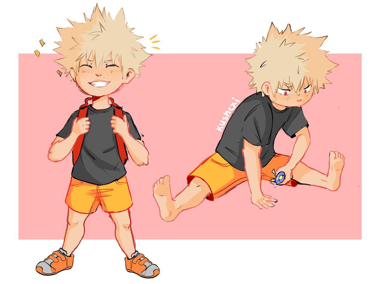 kushexi: Ive been reading the cutest kid Bakugou fic and I