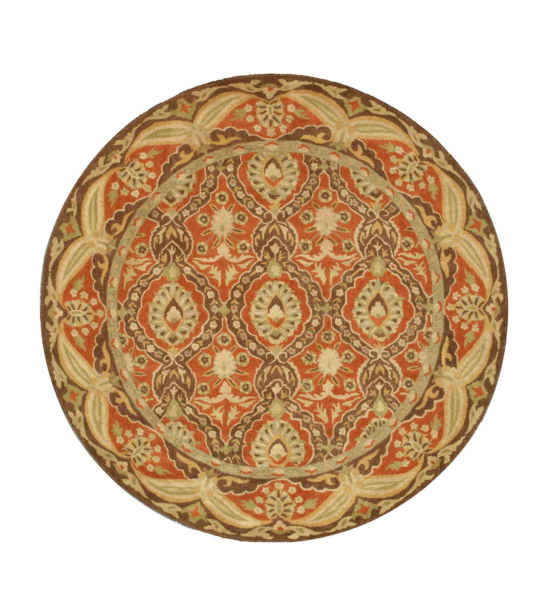 Nedumangad Hand Tufted Red Beige Area Rug Beige Area Rugs Colorful Rugs Rugs