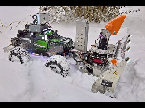 (2) RC snow blower in action! YouTube в 2020 г