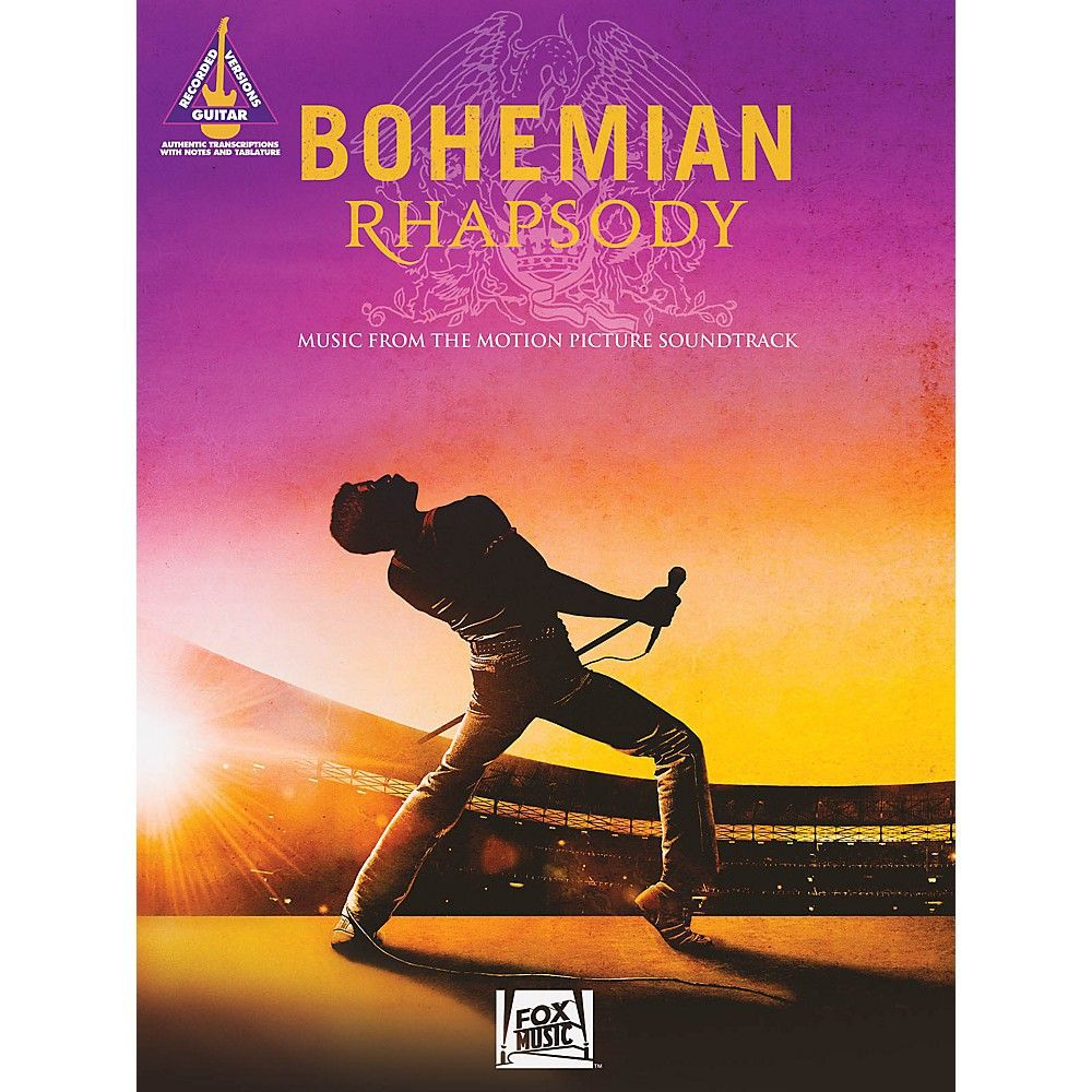 Hal Leonard Bohemian Rhapsody Music From The Motion Picture Soundtrack Guitar Tab Songbook By Queen Bohemian Rhapsody Movie Soundtracks Music Book