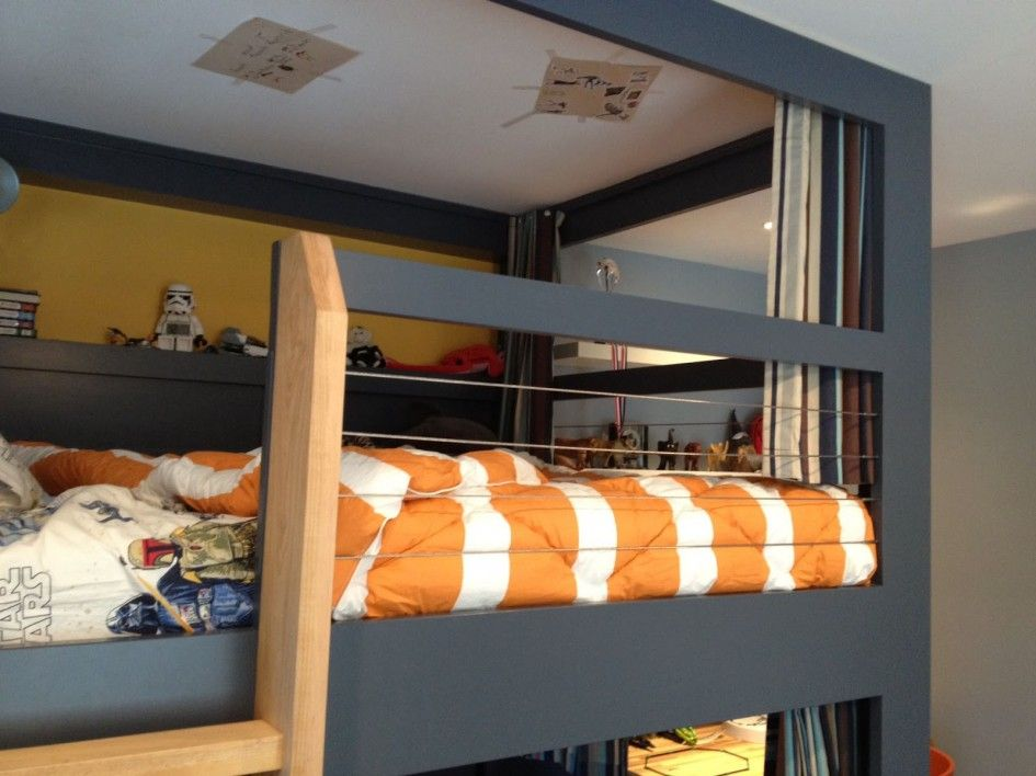 Gray Loft Beds Bedroom Trendy Handmade Bunk Bed Curtains For Gray
