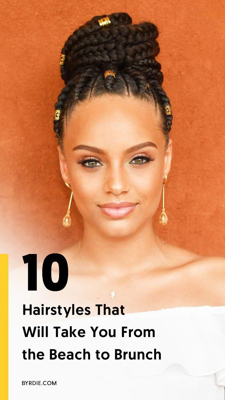 The best summer hairstyles for every hair texture #bestbraidedhairstyles | Cool braid hairstyles ...