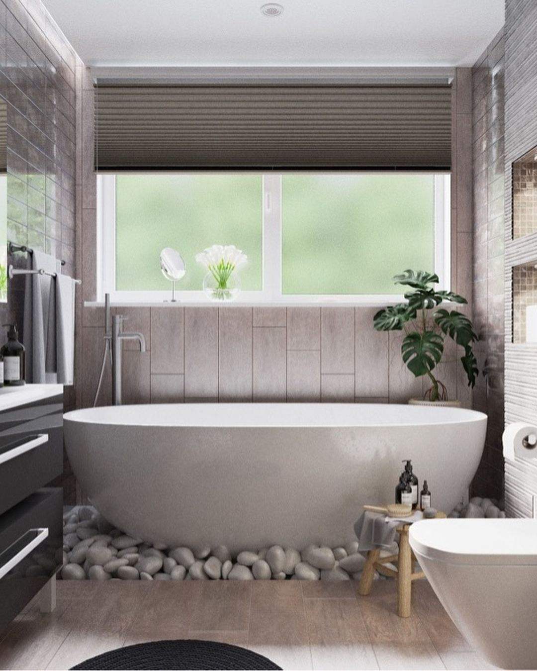 Small Bathrooms Are A Great Place To Get Creative Here Are The Latest Bathroom Trends For 2019 Bathroom Mikra Mpania Diakosmhsh Mpaniwn Anakainiseis Mpaniwn