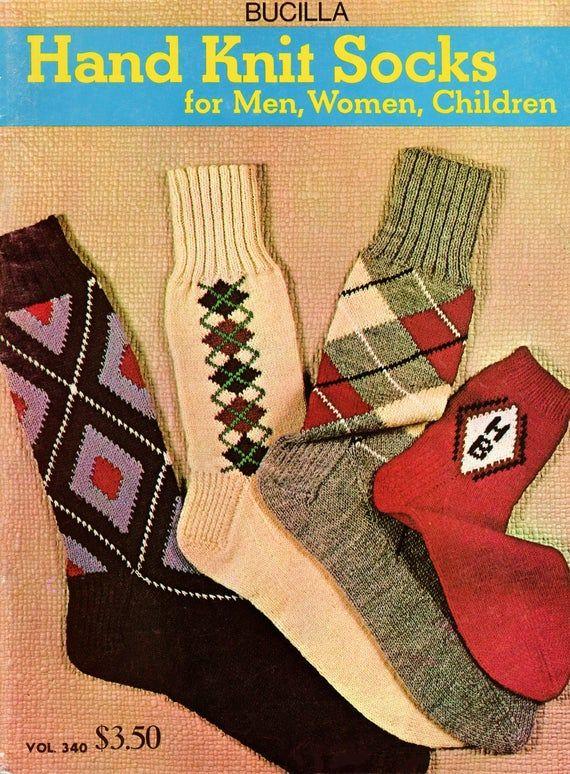 Vintage Socks Knitting Patterns PDF INSTANT DOWNLOAD ...