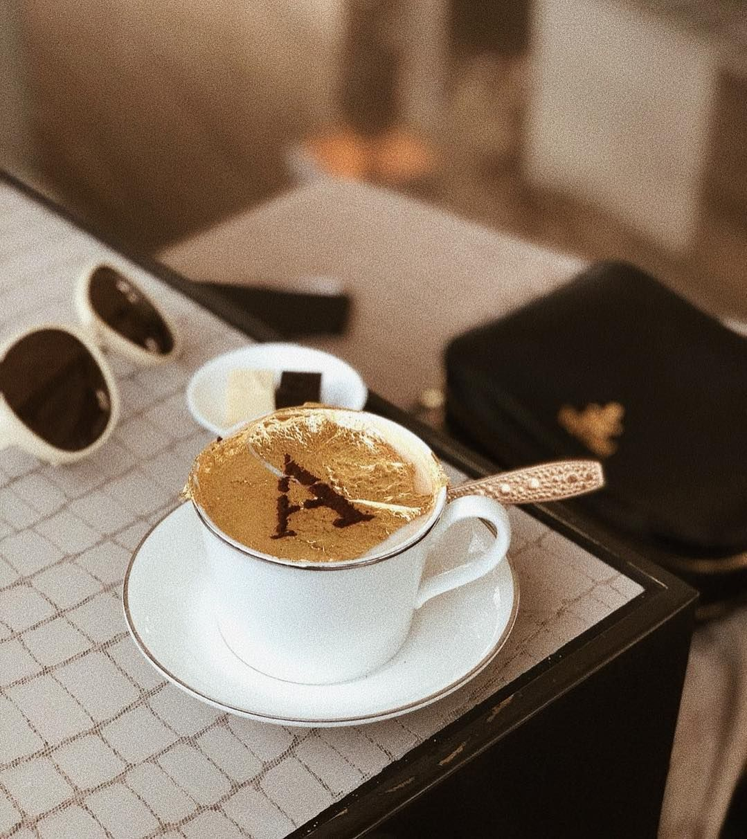 Don T Underestimate The Power Of Coffee A Girl With A Dream In 2020 Tableware Glassware Coffee