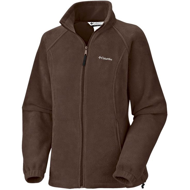 Columbia Fleece Zip Up Jacket Brown | Columbia, Brown and Products