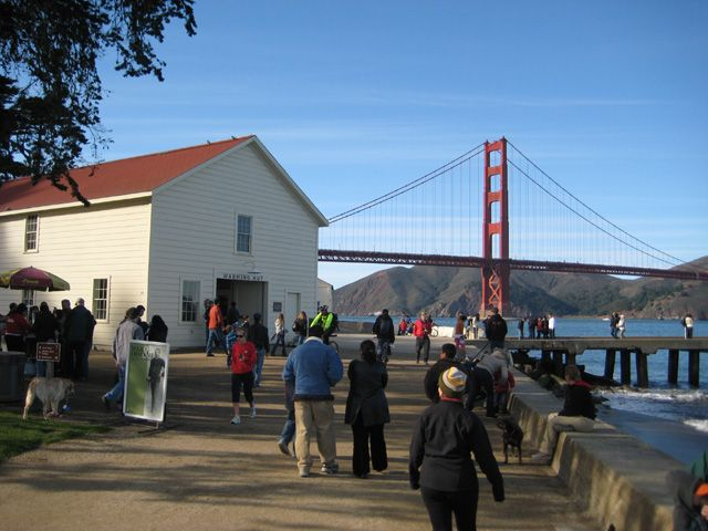 Warming Hut, the best place of my visit to San Francisco. Want to go back again! Now please!