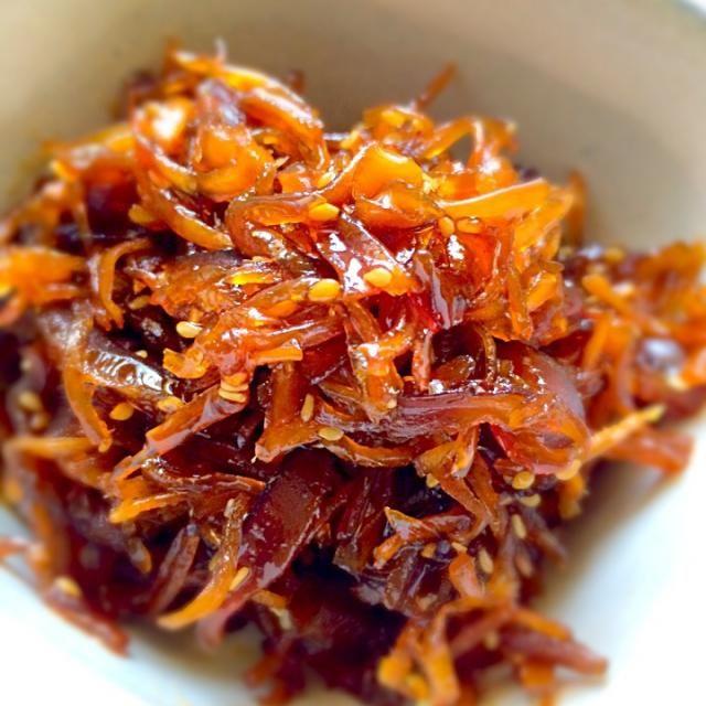 新生姜の佃煮 | レシピ | 生姜の佃煮、料理 レシピ、食べ物のアイデア
