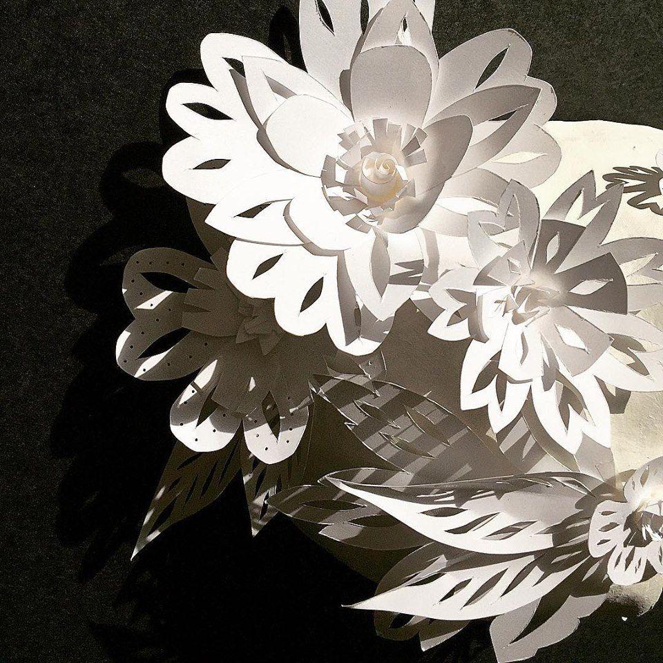 Cut paper flowers by claire mojher paper paint pixels cut paper flowers by claire mojher dhlflorist Images