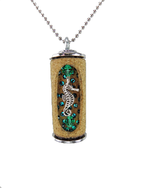 Wine cork necklaces - cute or tacky - I can't seem to decide.  Not a bad idea for corks that have special meaning though.