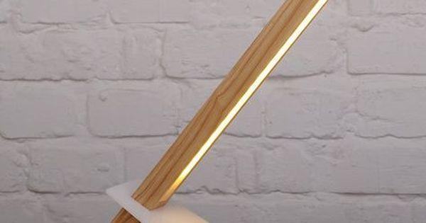 Lampe bureau bois bureau design lampe bureau bois et blanc